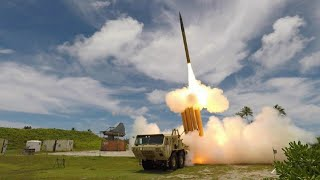 Look, Action From THAAD (Terminal High Altitude Area Defense), Shoot Fall Missile