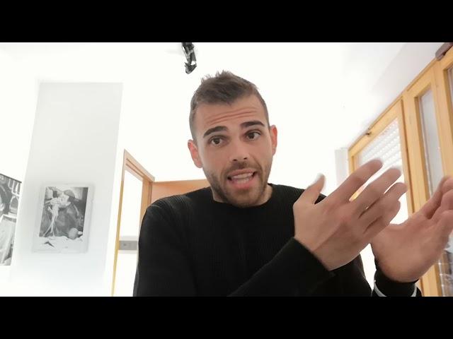 Edoardo Mecca ad Ariston Comic Selfie 2019