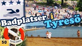 Badplatser i Tyresö