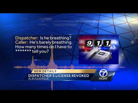 Ex-dispatcher who hung up on 911 caller has license revoked