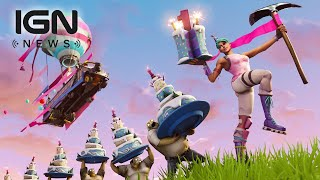 Fortnite: Birthday Event Announced for One Year Anniversary - IGN News