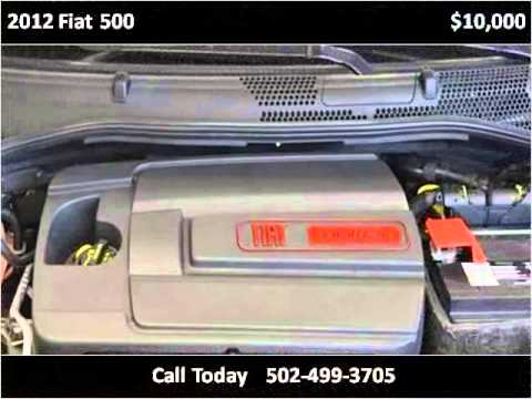 2012 Fiat 500 Used Cars Louisville KY  YouTube