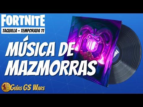 Música de Mazmorras Gratis | FORTNITE | Cómo Conseguirla para la Taquilla