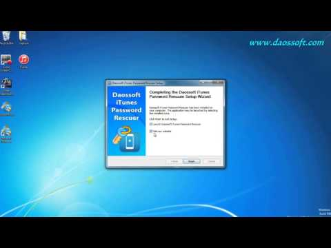How To Reset Forgotten Itunes Backup Word