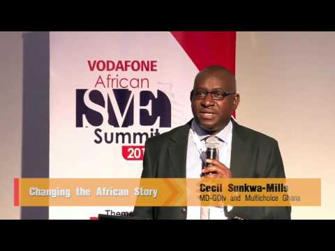 MUST WATCH!!! - Changing the African Story: Cecil Sunkwa-Mills - MD Gotv and Multichoice Ghana