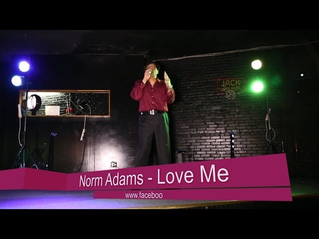 "Norm Adams--""Love Me"""