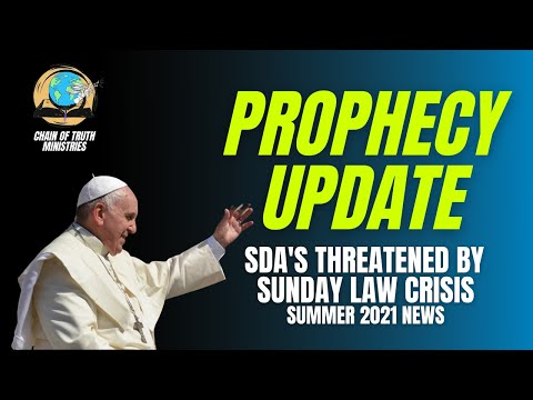 PROPHECY ALERT! Sunday law crisis on the horizon  | SDA's compared to ISIS & QAnon GET READY x3