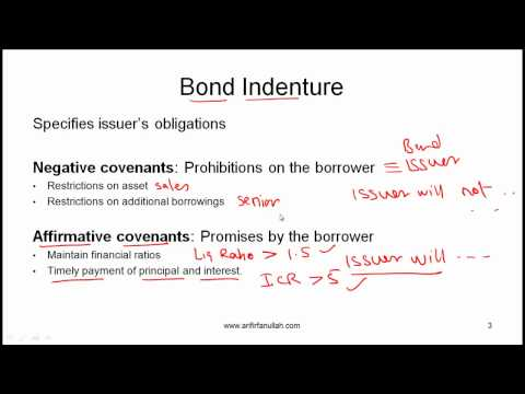 CFA Level I Features of Debt Securities Video Lecture by Mr. Arif Irfanullah Part 1