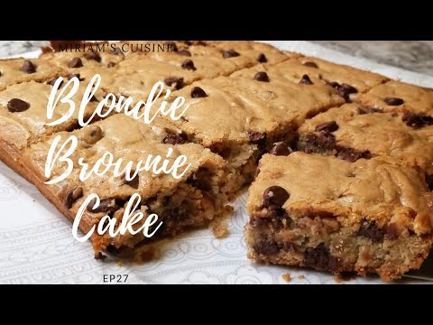 Easy Blondie Cake Recipe