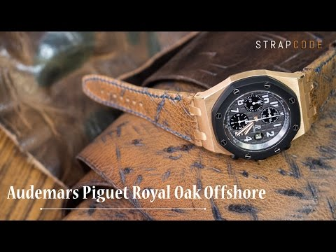 Change watch bands for Audemars Piguet Royal Oak Offshore