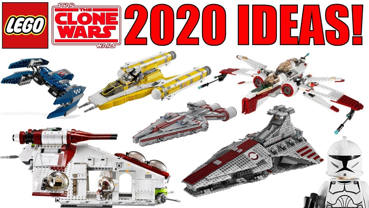 2020 Lego Star Wars The Clone Wars Sets