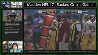 Madden NFL 17 : Online Ranked : Redskins vs Panthers