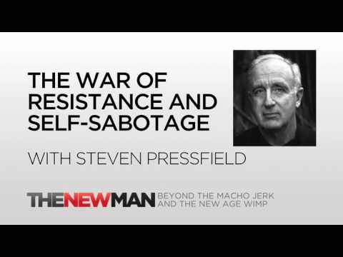 Steven Pressfield | The War Of Art and Self-Sabotage | The New Man Podcast with Tripp Lanier