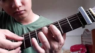 """Guitar hướng dẫn: Intro, đệm hát """"Anh nhận ra"""" - Khắc Việt"""