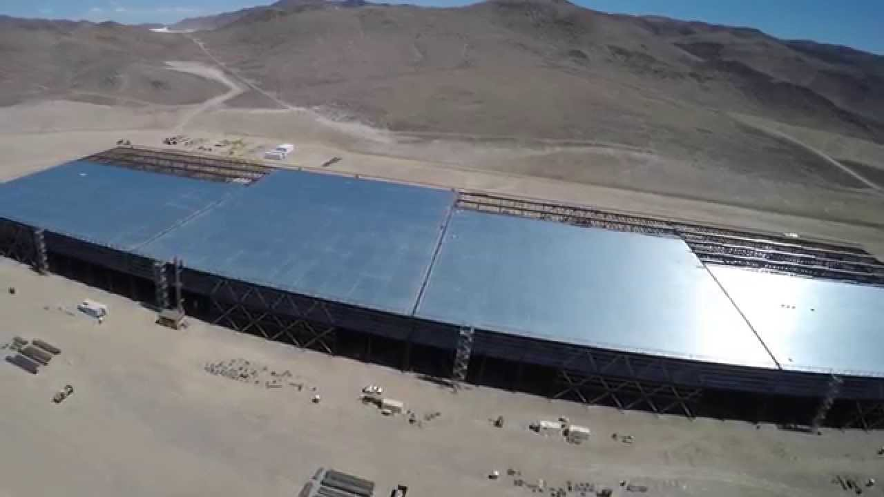 Tesla Gigafactory In 4k April 18 2015 Youtube