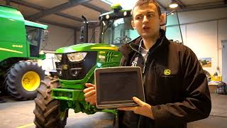 Systemy rolnictwa precyzyjnego oraz zasady ich regulacji w ciągnikach John Deere.
