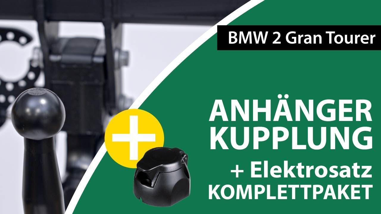 EBA Elektrosatz NEU inkl Anhängerkupplung abnehmbar für BMW 2er Active Tourer