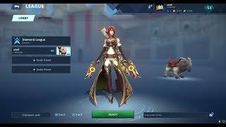 [Battlerite] Diamond 1 Jade vs  Champion 3 Rook 2v2 - epic snipes!