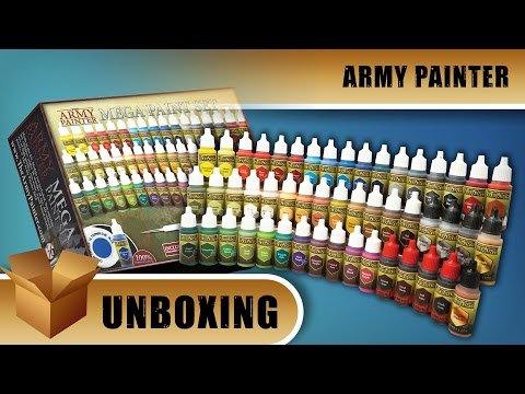 Army Painter Unboxing: Mega Paint Set