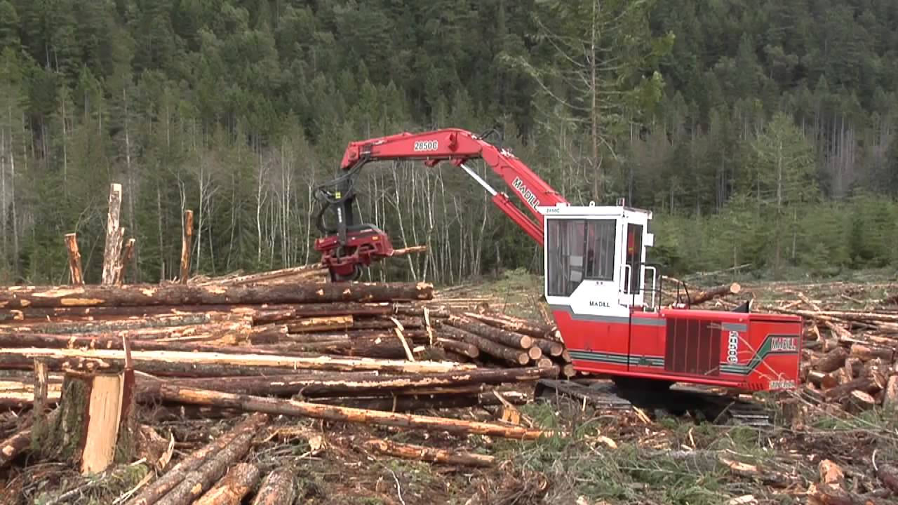 Madill 2850c Log Loader Youtube