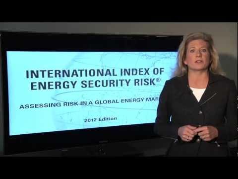 International Index of Energy Security Risk