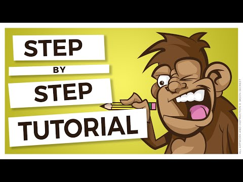 Illustrator Cartoon Tutorial: Easy Illustrator Coloring Techniques