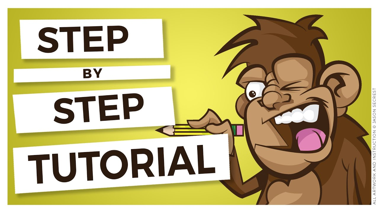 Adobe illustrator cartoon coloring tutorial using live for Cartoon tutorial