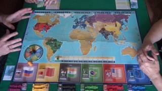 Империал 2030, 1/2 часть - играем в настольную игру.(Купить игру/Правила игры http://hobbyworld.ru/imperial-2030 Мир в 2030 году. России, США и Евросоюзу пришла пора потесниться:..., 2016-08-15T10:24:07.000Z)