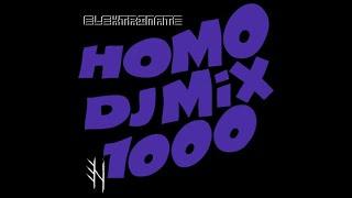 Elektrinate  - Homo DJ Mix 1000 [full industrial-ebm-aggro-dark electro set]