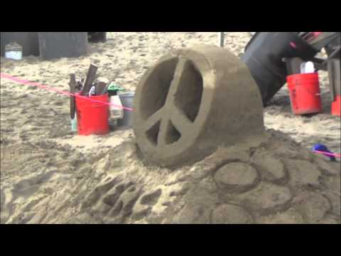 Sand Castle / Sculpture Contest Imperial Beach 2015
