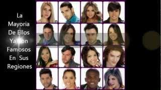 Protagonistas De Nuestra Tele FARSA 2012