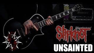 Slipknot - Unsainted (guitar Cover)