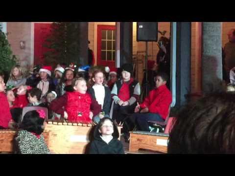Hanukkah at Winter Fest in Maitland Montessori School