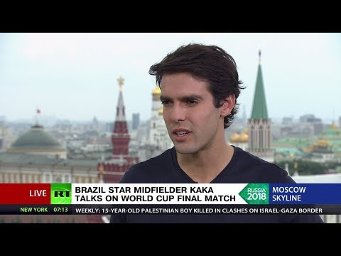 Brazil star Kaka on France v Croatia World Cup Final