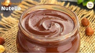 Homemade Nutella/Nocilla Recipe for Kids |Tiffin Box| How to make Nutella| Chocolate Hazelnut Spread