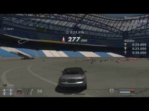 Gran Turismo 6 | Menu y Juego de Conos! | PokeR988