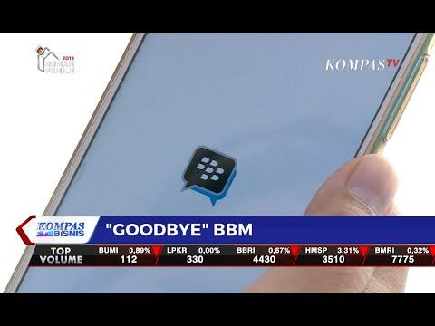 """31 Mei 2019 Jadi """"Ping"""" Terakhir BlackBerry Messenger"""