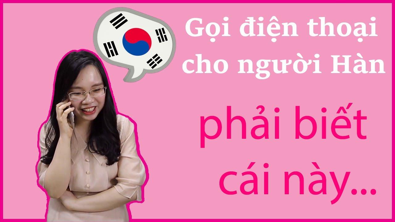 [Tập 3- 60 CÂU TIẾNG HÀN THÔNG DỤNG ] Cách nghe gọi điện thoại bằng Tiếng Hàn (Phần 2)