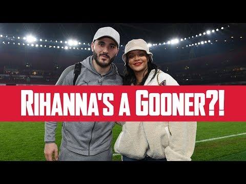 Rihanna's a Gooner?!