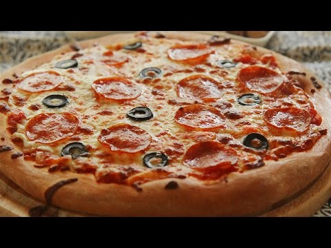 Homemade Pepperoni Pizza : Honeykki