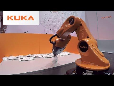 KUKA @ RoboCup Competition Leipzig 2016