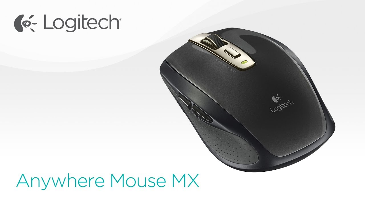 Logitech Anywhere Mouse MX - YouTube