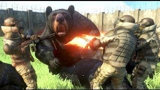 Far Cry 3 Massive Scale Battles Bears Vs Pirates
