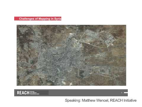 Who, What, When, Where: Mapping for Urban Humanitarian Response