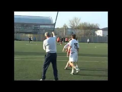 Тренировки из Германии по футболу. Упражнение №2