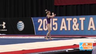 MyKayla Skinner - Floor Exercise - 2015 AT&T American Cup