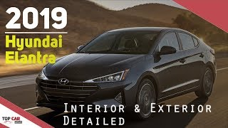 2019 Hyundai Elantra Sedans - Interior and Exterior Detailed