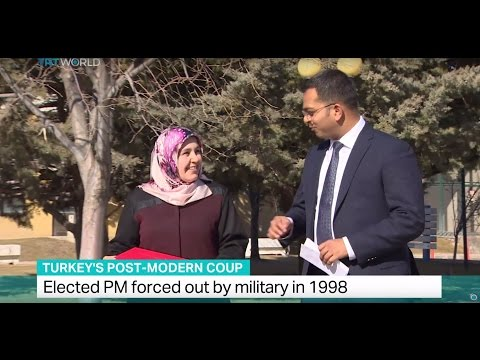 Turkey's Post-Modern Coup: Elected PM forced out by military in 1997