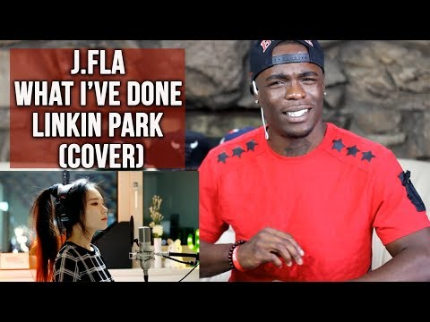 Linkin Park - What I've Done ( cover by J.Fla) | Oso's Reaction