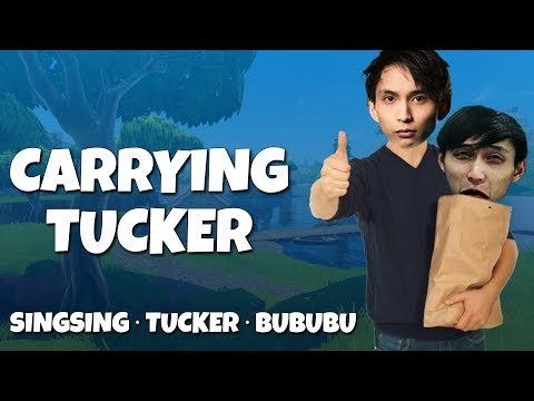 CARRYING TUCKER FOR THE FIRST TIME (SingSing & Tucker & BuBuBu)